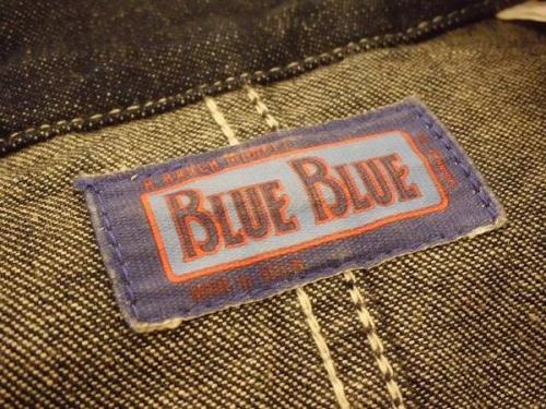 ジャケットのBLUE BLUE