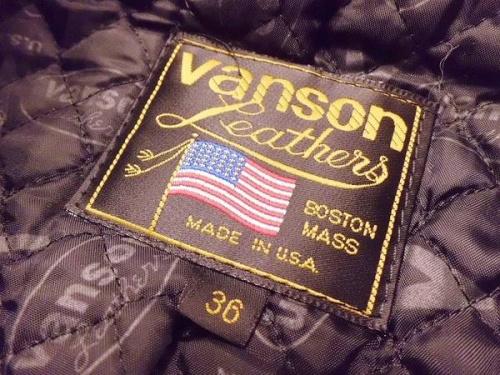 VANSONの大船メンズ衣類