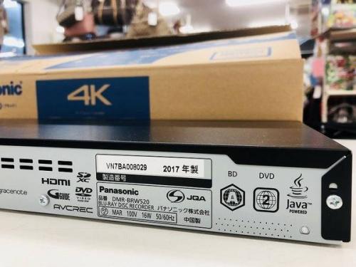 AV機器のBlu-rayレコーダー