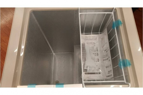 洗濯機の冷凍庫