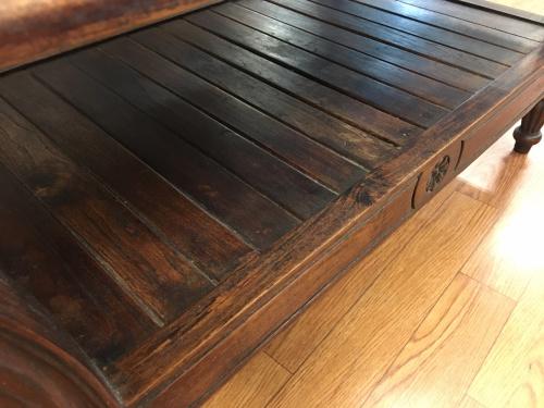 鎌倉 家具のマホガニーテーブル
