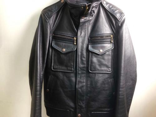 メンズファッションのレザージャケット
