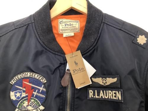 MA-1 ボンバージャケットのPOLO RALPH LAUREN ポロラルフローレン