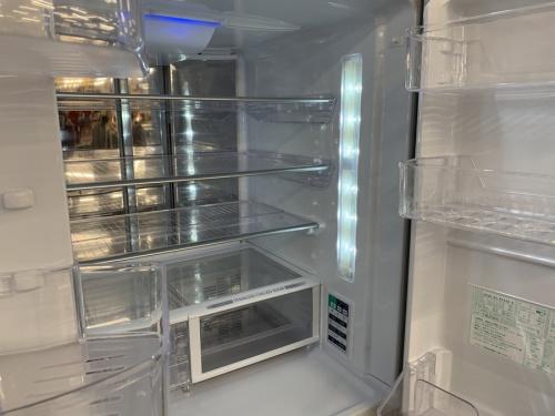6ドア冷蔵庫のSHARP シャープ