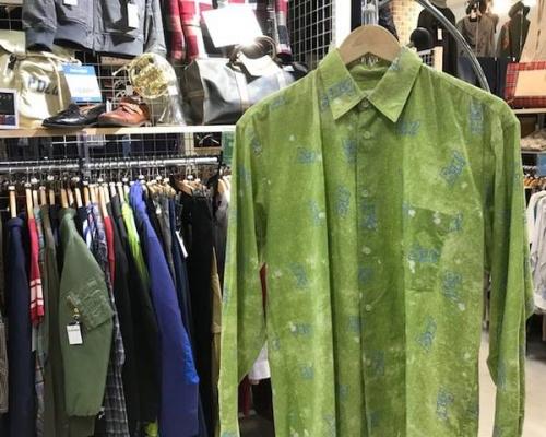 京都 衣類 中古 買取のシャツ 春物 メンズ