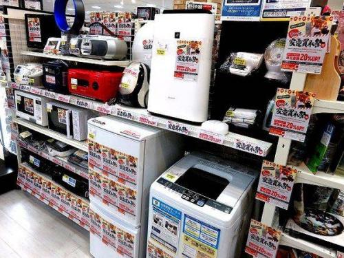 売っ得家電買取祭の中古家電 販売 京都