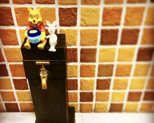 くまのぷーさん DISNEY 京都の水栓柱 廃盤
