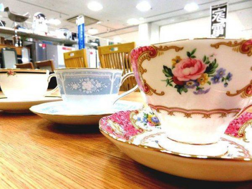 洋食器 中古の洋食器 カップ&ソーサー