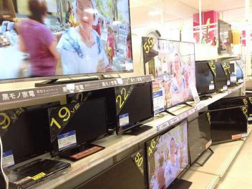 テレビのLED液晶テレビ