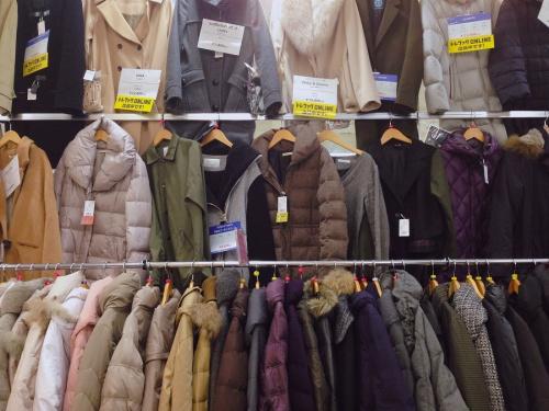 リサイクルショップ 宇治の冬物衣類 買取