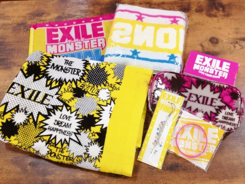 EXILE グッズ 買取のライブ グッズ