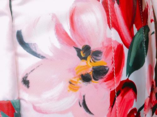 中古 バッグの花柄