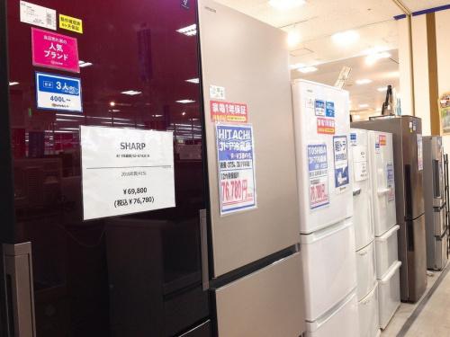 冷蔵庫の買取強化