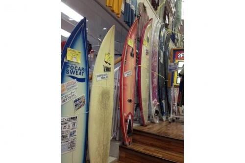 サーフィンの松戸