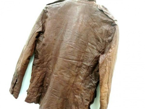ジャケットの豚革