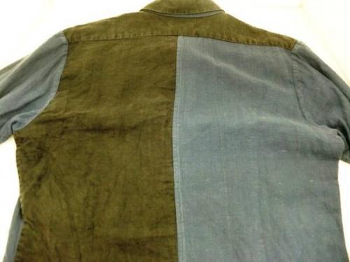 FRANK LEDERのリネンシャツ