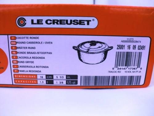 キッチン雑貨のLE CREUSET