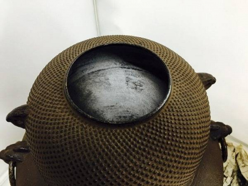 鉄瓶の炉窯