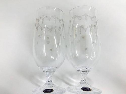 ビールグラスのボヘミア