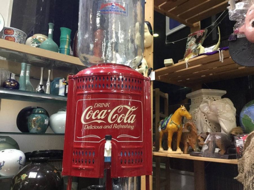 コカコーラのレトロ雑貨
