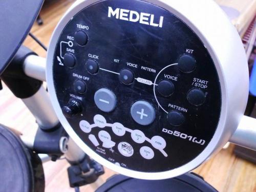 電子ドラムのMEDELI