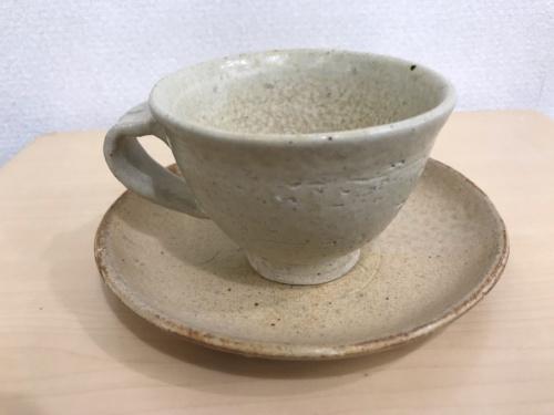 コーヒー碗の小国焼
