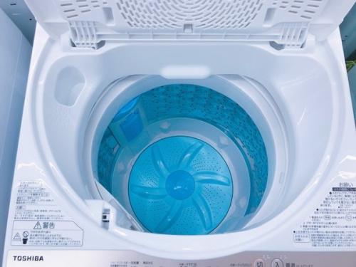 中古の全自動洗濯機