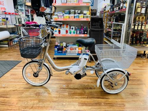 電動アシスト自転車のBRIDGESTONE