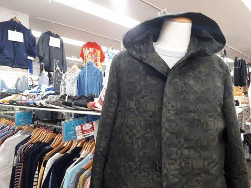 メンズファッションのライナー付コート