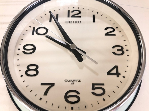 掛時計のSEIKO
