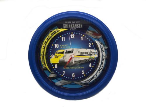 掛け時計のプラレール