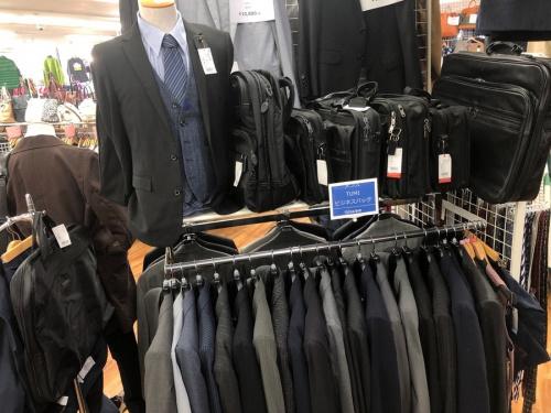 スーツのコーナー