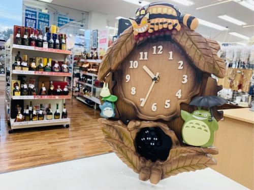 生活家電の掛け時計