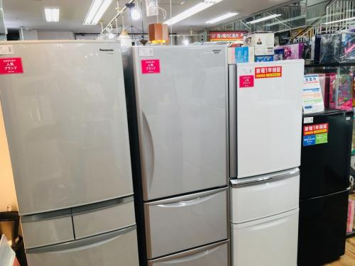 白物家電の大型冷蔵庫