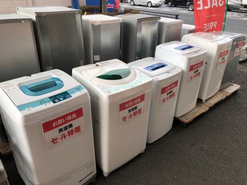 洗濯機のお買い得