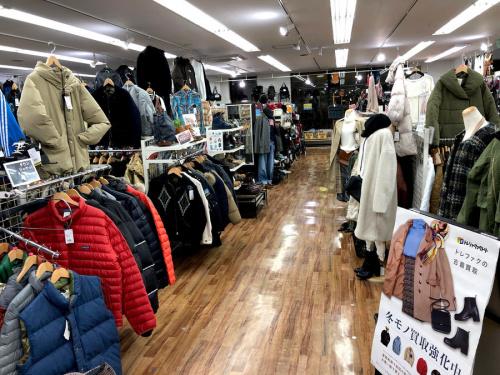 大掃除 買取 不用品の衣類 洋服 冬物