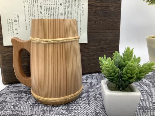 和食器の樽ジョッキ