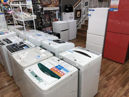 生活家電の洗濯機 中古家電