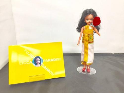 フィギュアのリカちゃん人形