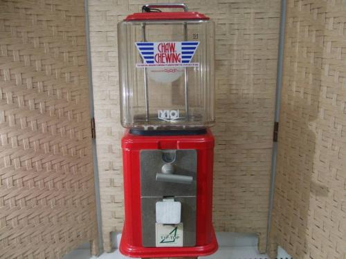 10円ガム機械のインテリア雑貨