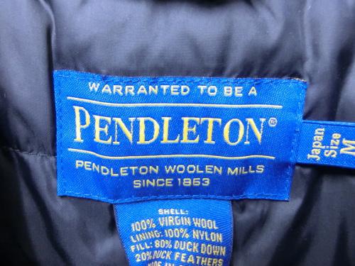府中中古衣類のPENDLETON