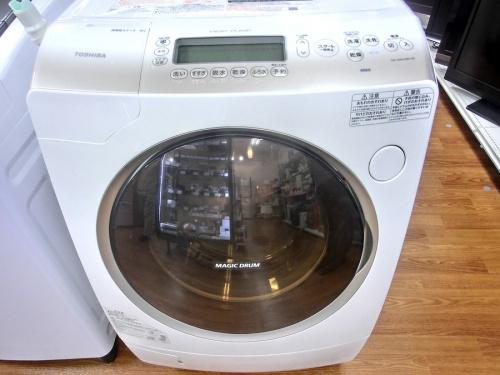 中古洗濯機のドラム式洗濯機