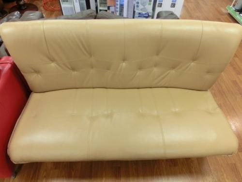 合皮ソファーの2人掛けソファー