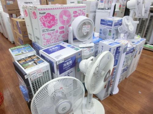 エアコンの夏物家電