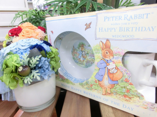 WEDGWOODのpeter Rabbit