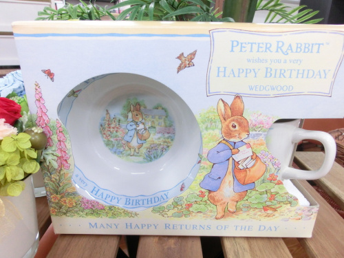 peter Rabbitの洋食器