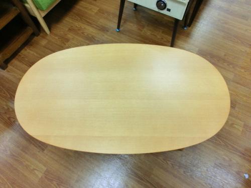 無印良品 MUJIのコタツ コタツテーブル 楕円テーブル