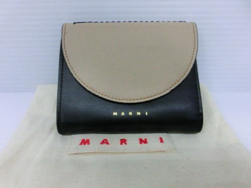 ブランド財布 3つ折り財布のMARNI マニア