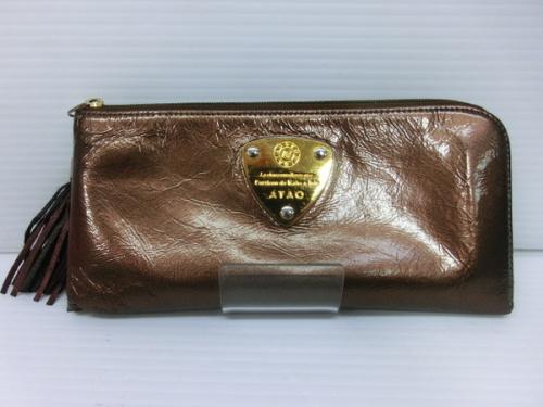 ATAO アタオ Limo シェブロンのブランド財布買取 中古ブランド財布販売