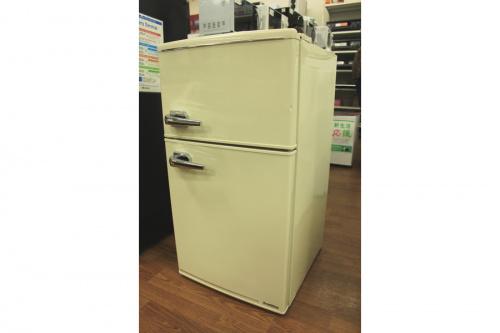 デザインキッチン家電の2ドア冷蔵庫